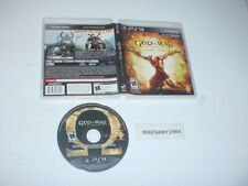 GOD OF WAR: ASCENSION game in case - Sony Playstation 3 PS3