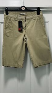 Tommy Hilfiger Shorts Size 8 (UK10). Beige New With Tags