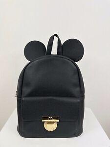 Disney Rucksack / Reißverschluss / Taschen, ca.26x27x12cm schwarz/gold