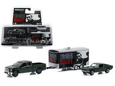 "2015 & 1968 FORD MUSTANG GT STEVE MCQUEEN ""BULLITT"" SET 1/64 GREENLIGHT 51007"