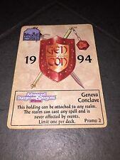 Spellfire - Promo 2 - Geneva Conclave - D&D - Card Game