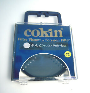 New Cokin Filter PLC Ø72mm W.A Circular Polarizer –K18