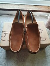 Anatomic Gel And Co Tan Suede Slip ons. Brand new with box size 11.5 RRP £105