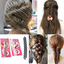 Hot French Hair Braiding Tool Roller With Magic Twist Styling Bun Maker Tool New