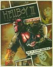 Hellboy II Golden Army Le 0025192186660 With Ron Perlman Blu-ray Region a