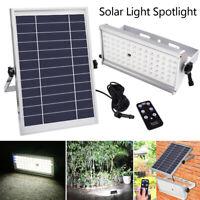 60LED Projecteur lumière Jardin solaire Light extérieur 1500 Lumens Passerelle