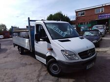 2012 MERCEDES SPRINTER 313 CDI 6 SPEED LWB ALUMINIUM DROPSIDE TAILIFT PICKUP!