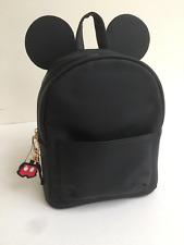 Disney Minnie/Mickey Mouse Nero Zaino/Zaino/Borsa-Primark, nuova con etichetta