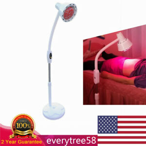 Far Infrared Therapy Heat Lamp Pain Relief Physiotherapy Electric IR Light  275W