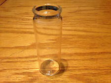 "Blooze Bottle Glass Guitar Slide - Long 3 3/16"" Clear - LC2 - New - Great Tone"