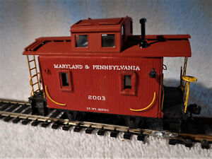 Vintage super detailed bobber cabosse in great condition   Ma & Pa  railroad