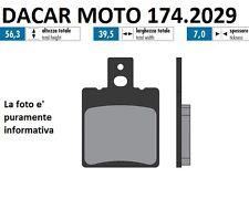 174.2029 PASTILLA DE FRENO SINTERED POLINI CAGIVA MITO 125 EV - RAPTOR 125