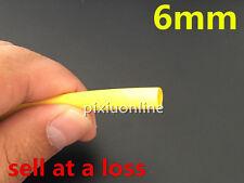 1 Meter/lot Yellow 6mm Diameter Heat Shrink L110 Tubing Tube Sleeving Wrap Wire