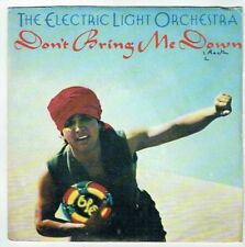 """ELECTRIC LIGHT ORCHESTRA Vinyle 45T 7"""" DON'T BRING ME DOWN - DREAMING OF 4000"""