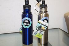 Stainless Steel Eco-Friendly BPA Free Sports Bottle - Bicycle Cycling pack of 24