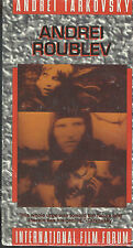 Andrei Rublev Foreign Film (VHS Tape, 1993, 2-Tape Set)