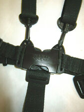 Mamas /& Papas Zoom Black Straps 5 Five Point Harness Sola Glide Pixo and Moove 2