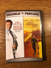Patch Adams What Dreams May Come Double Feature Dvd Robin Williams 2-Disc Set
