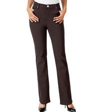 b1648b97 Lee Platinum Label 9054 Size 10 Womens Taupe Textured Straight-leg Pants
