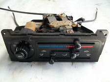 Mazda MX5 MK1 Heater Control Unit Complete With Cables and Air-Con Button
