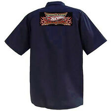 Hot Wheels Dragstrip Demons - Mechanics Graphic Work Shirt  Short Sleeve