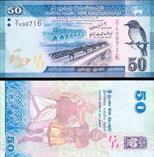 SRI LANKA - 50 rupees 2010 FDS - UNC