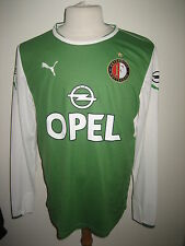 Feyenoord Rotterdam MATCH WORN football shirt +SHORT soccer jersey voetbal sz L