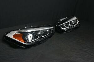 New BMW X1 F48 LCI USA LED Adaptive Headlight Head Lights 9477829 9477830