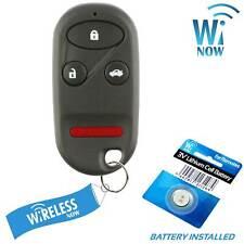 Car Key Fob Keyless Remote 4B For 1996 1997 1998 1999 2000 2001 Honda Prelude