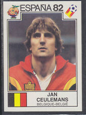 Panini - Espana 82 World Cup - # 215 Jan Ceulemans - Belgique
