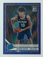 2019-20 Panini Optic Rated Rookie Purple Shock Jaxson Hayes #190, Parallel