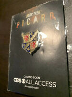 Star Trek Picard Promo Pin Family Crest CBS All Access