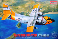 Roden 062 - Fairchild HC - 123B Provider American - 1/72 Scale Model Kit 465 mm