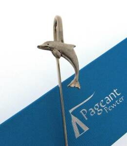 Dolphin Silver Pewter Bookmark With Gift Box - Perfect Gift Idea