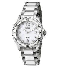 Citizen Eco-Drive Women's EM0030-59A Diamond Accent Two-Tone Bracelet 38mm Watch