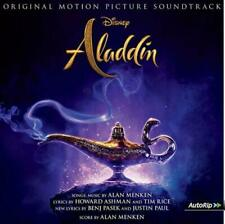 ALADDIN SOUNDTRACK CD (Released May 24th 2019)