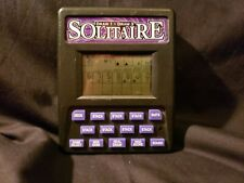 RecZone Pocket Solitaire Electronic Handheld LCD Game Draw 1 Draw 3 Travel