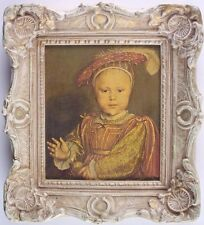 Portrait of Edward VI, Prince of Wales by Hans Holbein, Framed Textured Print