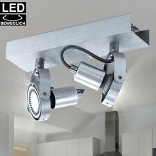 LED Decken Leuchte ALU Spot Leiste verstellbar Flur Wohn Zimmer Strahler Lampe