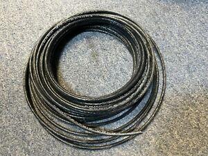 50-FT Mil-Spec M22759/16-8 Hook-Up Wire, 8 AWG, Stranded TC, ETFE, 600V Black