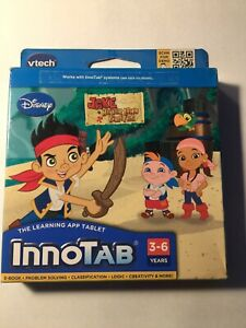 VTech InnoTab Tablet Software Game DISNEY JAKE AND THE NEVERLAND PIRATES New