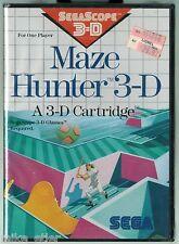Maze Hunter 3-D (Sega Master System, 1988) Factory Sealed