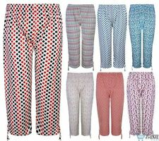 Cotton Not Relevant Mid Capri, Cropped Trousers for Women