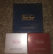 Vintage Trivial Pursuit Master Game Genus Edition W/ Silver Screen & Baby Boomer