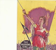 THE VAGABOND KING(1930)DENNIS KING ORIGINAL PRESSBOOK HERALD