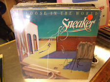 SNEAKER Loose In The World vinyl LP 1982 Handshake Records EX IN Shrink