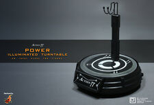 Hot Toys ID Square Action TT Power Illuminated Turntable 1/6th Figure Stand MIB