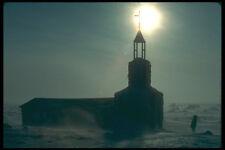 233074 sacerdote e Chiesa Pelly Bay Northwest Territories A4 FOTO STAMPA