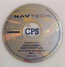2000 2001 2002 BMW M3 M5 X5 Z3 Z8 NAVIGATION MAP CD 2 NW SW AZ CO ID OR UT WA WY