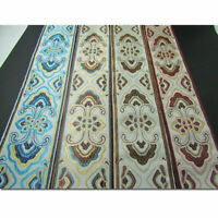 Floral Fringe Embroidery Jacquard Ribbon Braid Trims Curtain Fabric Decor Crafts